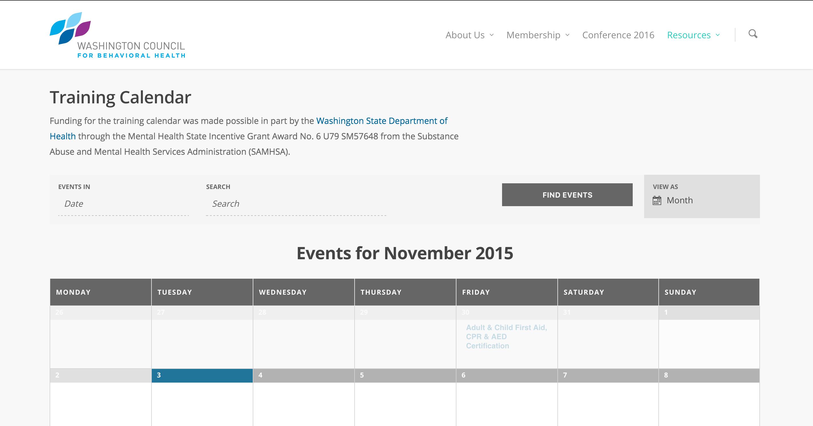 Discover Our Behavioral Health Training Calendar